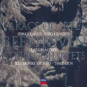 Beethoven: The Middle Quartets, Takács Quartet