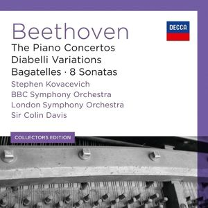 Beethoven: The Piano Concertos, Stephen Kovacevich, Lso, Sir Colin Davis