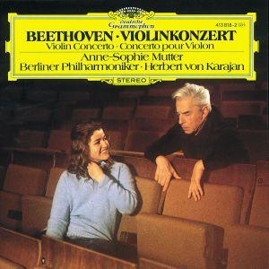 Beethoven: Violin Concerto, Anne-Sophie Mutter, Herbert von Karajan, Bp