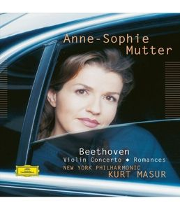 Beethoven: Violin Concerto, Romances, Anne-Sophie Mutter, Kurt Masur, Nypo