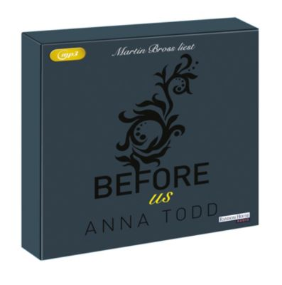 Before us, 2 MP3-CDs, Anna Todd