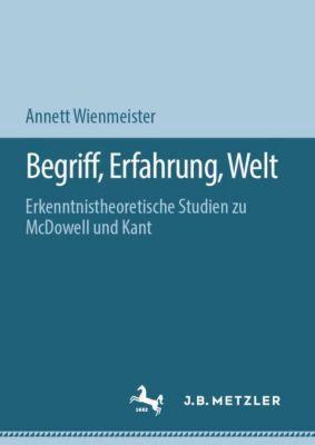 Begriff, Erfahrung, Welt - Annett Wienmeister |