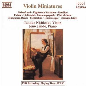 Beliebte Kleine Violinstücke, Takako Nishizaki, Jenö Jando