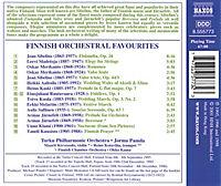 Beliebte Orchesterwerke finnischer Komponisten - Produktdetailbild 1