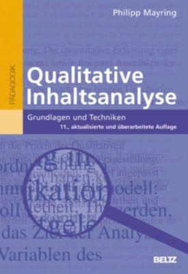 Beltz Pädagogik: Qualitative Inhaltsanalyse, Philipp Mayring