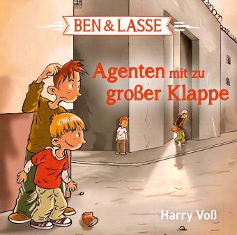 Ben & Lasse - Agenten mit zu großer Klappe, 1 Audio-CD, Harry Voß