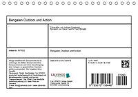 Bengalen Outdoor und Action (Tischkalender 2019 DIN A5 quer) - Produktdetailbild 13