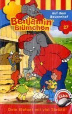 Benjamin Blümchen auf dem Bauernhof, 1 Cassette, Elfie Donnelly