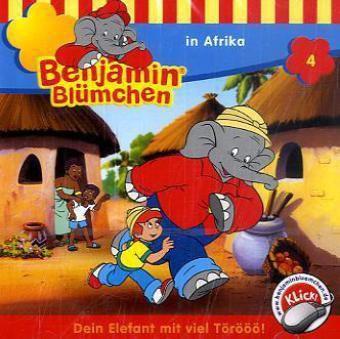 Benjamin Blümchen Band 4: Benjamin Blümchen in Afrika (1 Audio-CD), Benjamin Blümchen