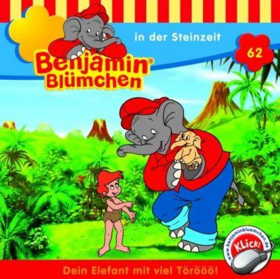 Benjamin Blümchen Band 62: Benjamin Blümchen in der Steinzeit (1 Audio-CD), Elfie Donnelly