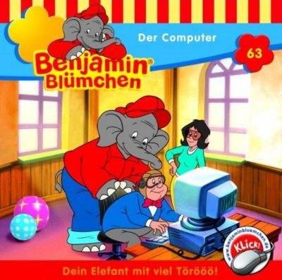 Benjamin Blümchen Band 63: Der Computer (1 Audio-CD), Elfie Donnelly