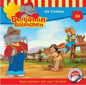 Benjamin Blümchen Band 88: Benjamin Blümchen als Cowboy (1 Audio-CD), Benjamin Blümchen