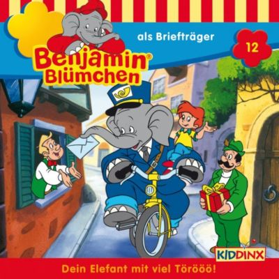 Benjamin Blümchen: Benjamin Blümchen - … als Briefträger, Elfie Donnelly
