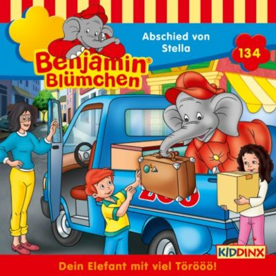 Benjamin Blümchen: Benjamin Blümchen - Folge 134: Abschied von Stella, Vincent Andreas