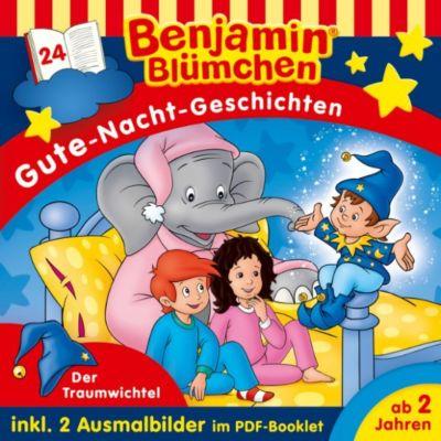 Benjamin Blümchen: Benjamin Blümchen  - Gute-Nacht-Geschichten - Folge 24: Der Traumwichtel, Vincent Andreas
