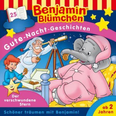 Benjamin Blümchen: Benjamin Blümchen - Gute-Nacht-Geschichten 25: Der verschwundene Stern, Vincent Andreas