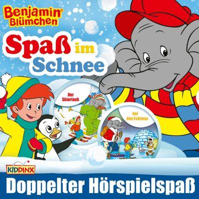 Benjamin Blümchen: Benjamin Blümchen - Spaß im Schnee! Folge 17 + 92, Elfie Donnelly, Ulli Herzog, K.-P. Weigand
