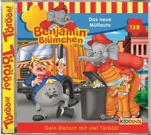 Benjamin Blümchen - Das neue Müllauto, 1 Audio-CD, Benjamin Blümchen