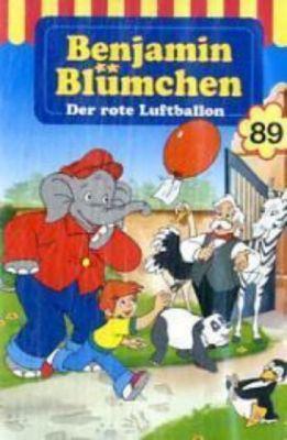 Benjamin Blümchen - Der rote Luftballon, 1 Cassette, Elfie Donnelly