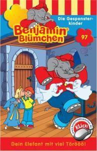 Benjamin Blümchen, Die Gespensterkinder, 1 Cassette, Elfie Donnelly