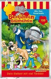 Benjamin Blümchen - Die Zoo-Feuerwehr, Cassette, Benjamin Blümchen