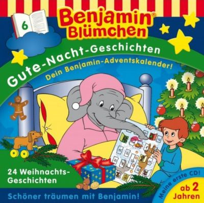 Benjamin Blümchen Gute-Nacht-Geschichten - 24 Weihnachtsgeschichten