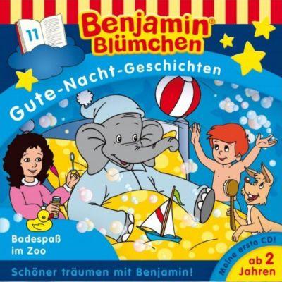 Benjamin Blümchen Gute-Nacht-Geschichten -Badespaß im Zoo, Benjamin Blümchen, Gute-nacht-geschichten