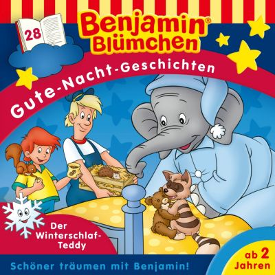 Benjamin Blümchen - Gute-Nacht-Geschichten: Benjamin Blümchen - Gute-Nacht-Geschichten - Folge 28: Der Winterschlaf-Teddy(Hörbuch-Download) - Vincent Andreas pdf epub
