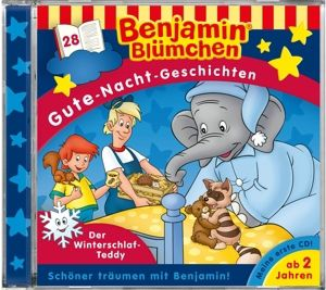 Benjamin Blümchen Gute-Nacht-Geschichten - Der Winterschlaf-Teddy, Audio-CD, Benjamin Blümchen