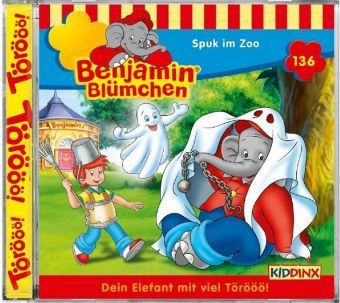 Benjamin Blümchen - Spuk im Zoo, 1 Audio-CD, Benjamin Blümchen