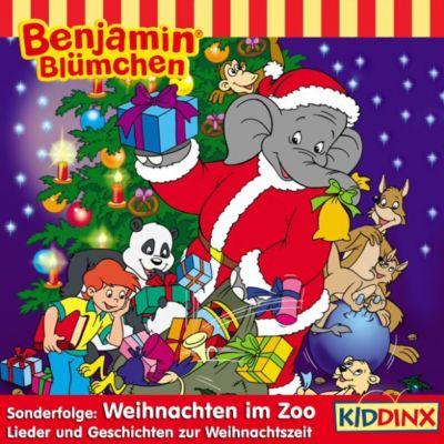 Benjamin Blümchen - Weihnachten im Zoo, Elfie Donnelly, Klaus-P. Weigand