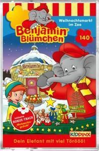 Benjamin Blümchen - Weihnachtsmarkt im Zoo, 1 Cassette, Benjamin Blümchen