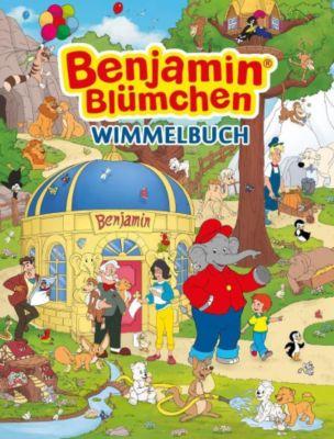 Benjamin Blümchen Wimmelbuch, Madlen Frey