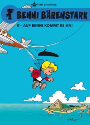 Benni Bärenstark Bd. 9: Auf Benni kommt es an!, Peyo, Thierry Culliford