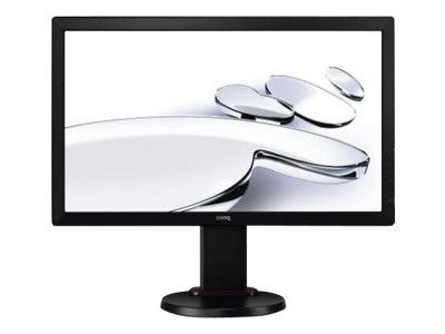 BENQ BL2405HT 60,9cm 24Zoll Wide LED Display FullHD 1080p 16:9 12Mio:1 250cd 2ms HDMI DVI-D RGB Pivot 2x2W TCO 5.2 schwarz