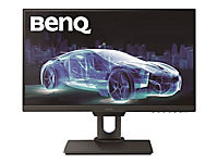 BENQ PD2500Q 63,50cm 25Zoll Wide LED Display WQHD 2560 x 1440 16:9 20 Mio:1 350 cd/m 4ms HDMI DP 4x USB 2x 2 Watt TCO 7.0 schwarz - Produktdetailbild 1