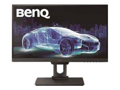 BENQ PD2500Q 63,50cm 25Zoll Wide LED Display WQHD 2560 x 1440 16:9 20 Mio:1 350 cd/m 4ms HDMI DP 4x USB 2x 2 Watt TCO 7.0 schwarz