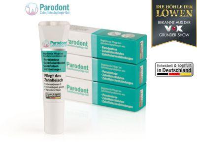 Beovita Parodont-Gel 3er-Set 10ml weiß