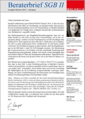 Beraterbrief Pflege Ausgabe Juli 2016/6, Carmen P. Baake