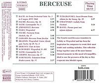 Berceuse (Music Of Peace And Calm) - Produktdetailbild 1