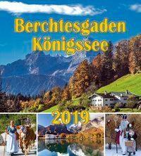 Berchtesgaden Königssee Postkartenkalender 2019