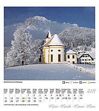 Berchtesgaden Königssee Postkartenkalender 2019 - Produktdetailbild 4