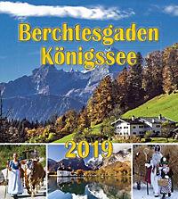 Berchtesgaden Königssee Postkartenkalender 2019 - Produktdetailbild 1