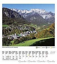 Berchtesgaden Königssee Postkartenkalender 2019 - Produktdetailbild 12