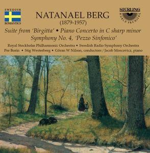 Berg:Klavierkonzert/Sinfonie 4, Swedish Radio Sym.Orch., Nilson