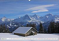 Bergblicke der Schweiz (Wandkalender 2019 DIN A2 quer) - Produktdetailbild 1