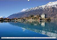 Bergblicke der Schweiz (Wandkalender 2019 DIN A2 quer) - Produktdetailbild 2