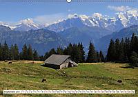 Bergblicke der Schweiz (Wandkalender 2019 DIN A2 quer) - Produktdetailbild 9