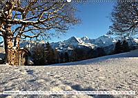 Bergblicke der Schweiz (Wandkalender 2019 DIN A2 quer) - Produktdetailbild 12