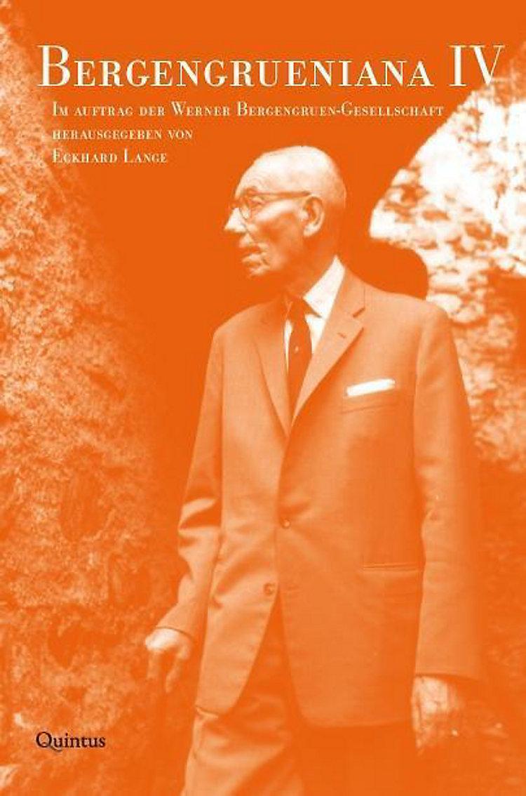 Bergengrueniana Buch Jetzt Bei Weltbildde Online Bestellen